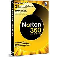 NORTON 360 V5.0 3 PC - inkl. Updatemöglichkeit auf Version 6.0