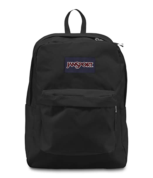 00f9ab2f4 Amazon.com: Jansport Superbreak Backpack (Black): Clothing