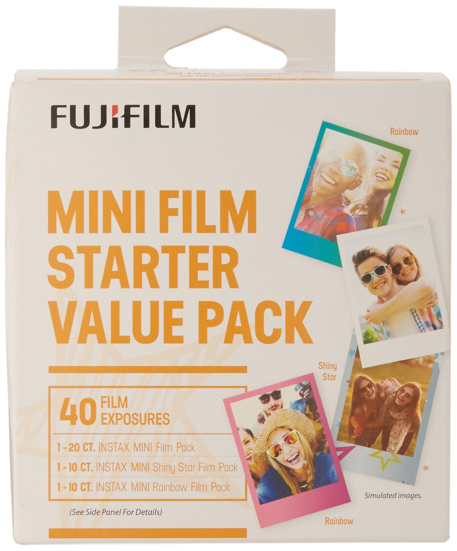 Fujifilm Instax Mini Film Starter Value Pack - 40 Exposures