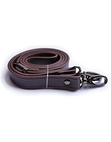 70daced8be Wento 1pcs 43''-49'' Dark Brown Faux Leather Adjustable Bag Strap