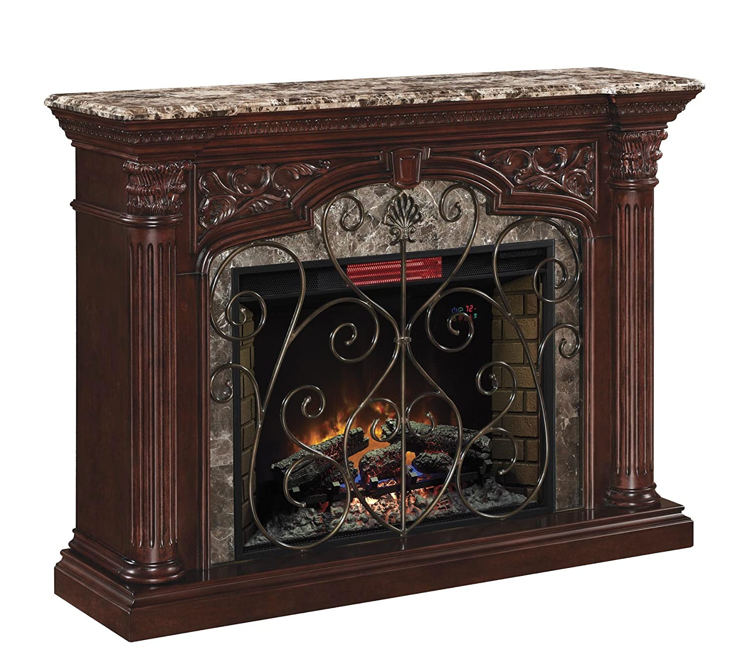 amazon com classicflame 33wm0194 c232 astoria wall fireplace