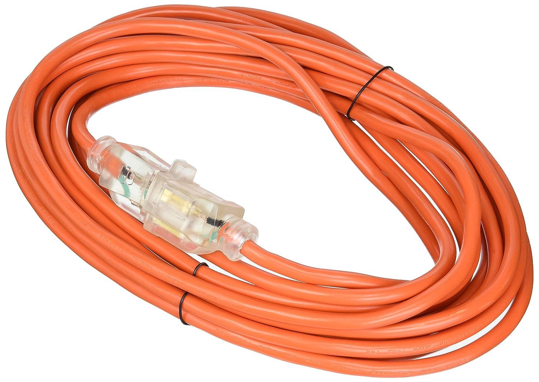 USA 70040 Extension Cord 16 Gauge 25 ATE Pro 3-Prong 25/' Homeland Generators /& Machinery