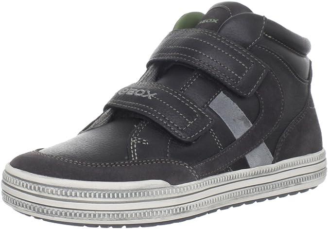 Zapatos negros Geox Kiwi infantiles Dzp8pt