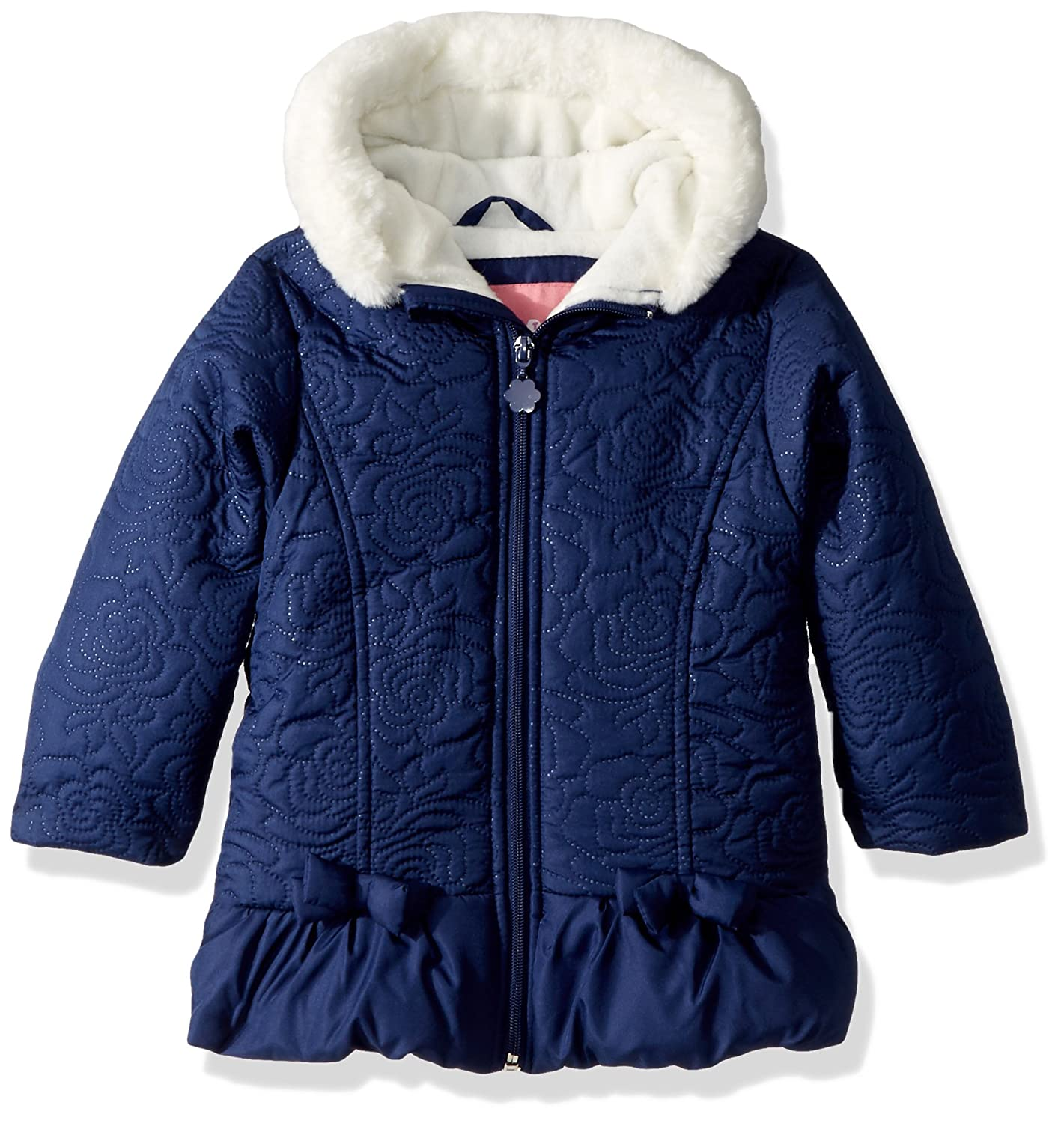 Wippette Baby Girls Sueded Microfiber Quilted Puffer Inf 93138