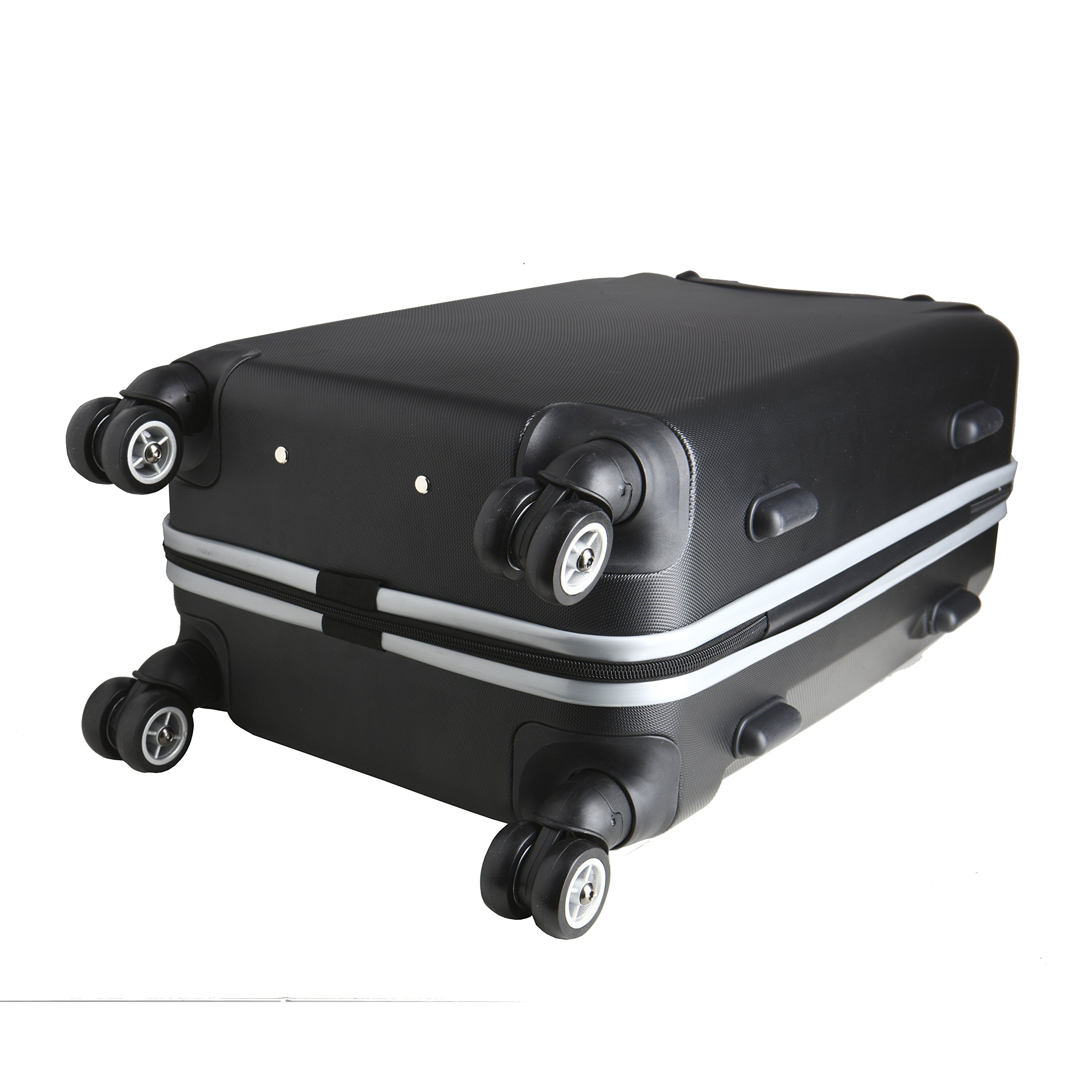 Denco NBA Houston Rockets Carry-On Hardcase Luggage Spinner, Black by Denco (Image #3)