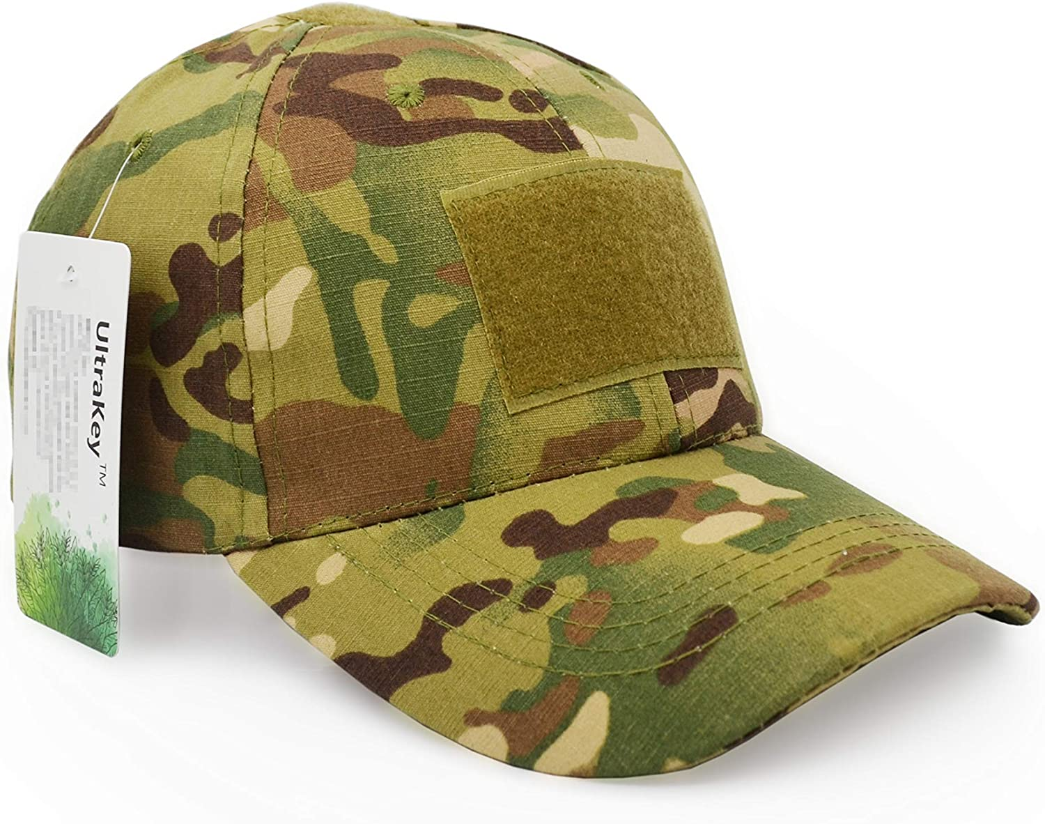 Mens Tactical Operator Camouflage Baseball Hat Military Army Forces Outdoor Cap