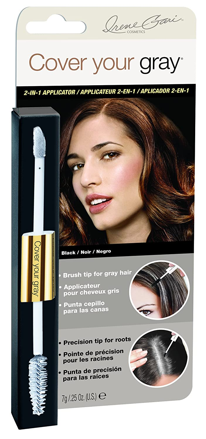 Amazon.com: Cover Your Gray 2-in-1 Mascara Wand & Sponge Tip Applicator - Dark Brown: Beauty