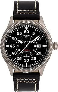 Gigandet G8-005 - Reloj para Hombres, Correa de Cuero Color Negro