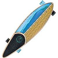 Kryptonics Diamond Tail Longboard monopatín Completo