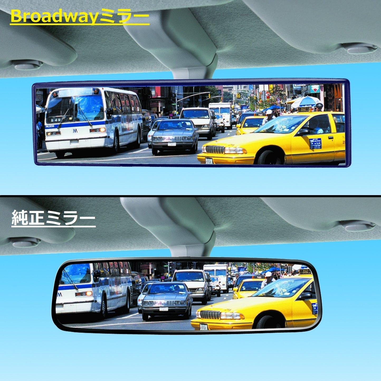 Broadway BW842 240mm Type-A Flat Mirror