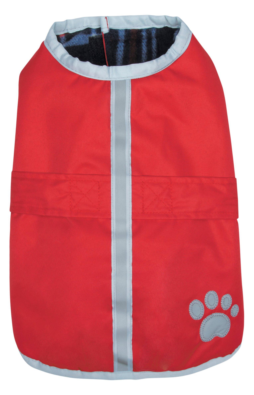 Zack & Zoey Nor'Easter Blanket Coat, Large, Dark Red by Zack & Zoey