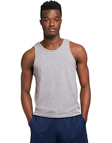48409cd32f315 Russell Athletic Men s Essential Cotton Tank Top