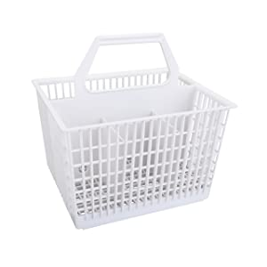 First4Spares 1 WD28 General Electric Dishwasher Cutlery Silverware Basket Holder for GE WD28X265, 1