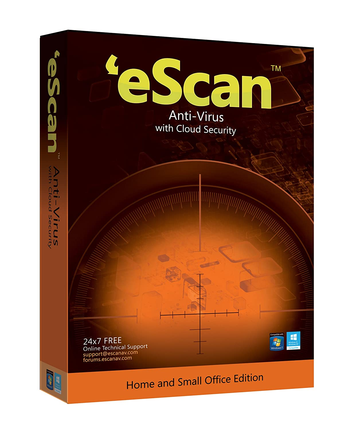 eScan AntiVirus with Cloud Security 1 User..