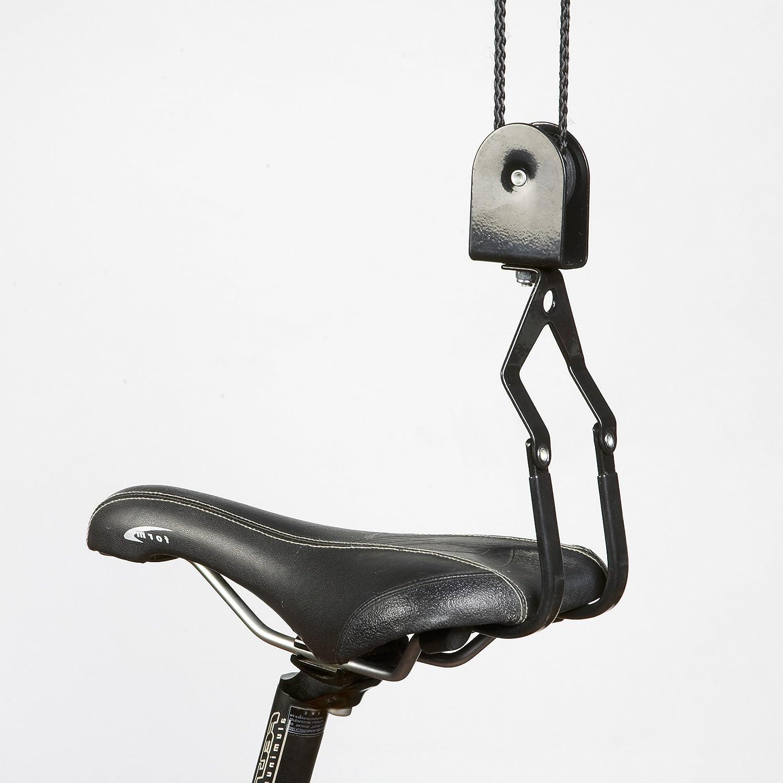 Masidef 9335800 Portabici Sollevatore per Bici a Soffitto