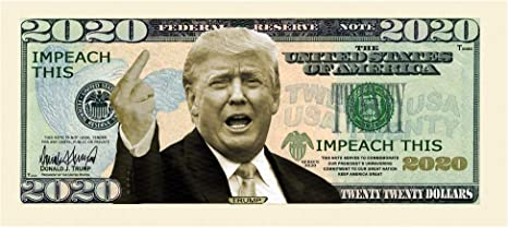 25 Donald Trump 2019 President Dollar Bill Note Lot