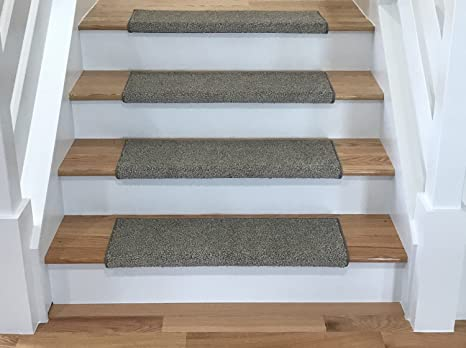 Tread Comfort Caprice Bullnose Carpet Stair Tread With Adhesive Padding, By  (1 X 31