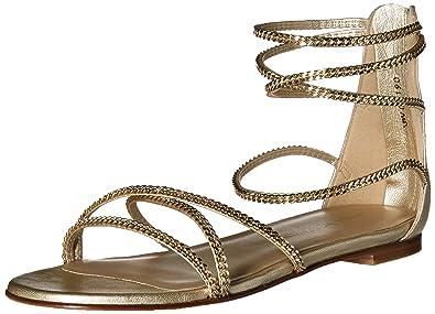 438b3df97 Stuart Weitzman Women s CHAINDOWN Flat Sandal