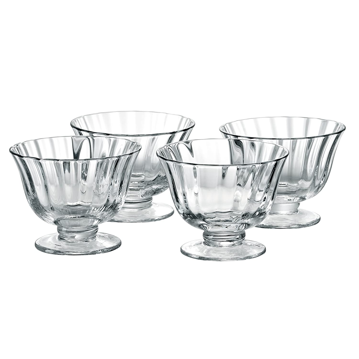 Aspen Individual Trifle Bowls, Set of 4, Transparent Artland 80544