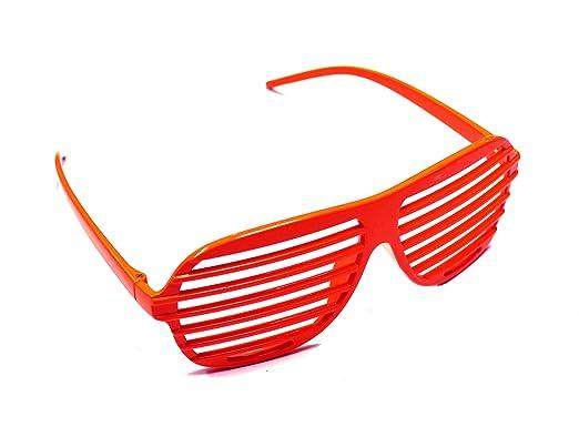 Komonee Lunettes de soleil en plastique à la mode nouveauté amusante rouge 62d04ae3c747