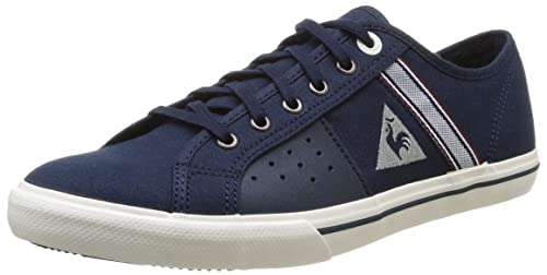 a01ec47266e5 Le Coq Sportif Men s Saint Malo 2 Cvs Trainers Blue Bleu (Dress Blues) 11