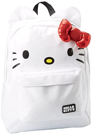 e50046cbc Amazon.com: Hello Kitty SANBK0015, White/Red/Black: Clothing