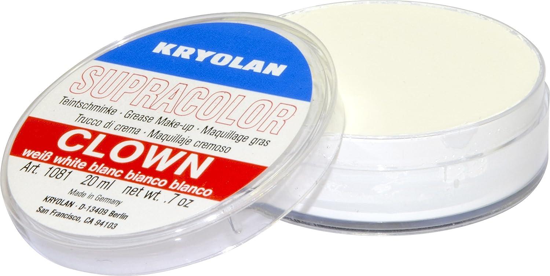 Kryolan SUPRACOLOR BIANCO CLOWN 20 ML make up bodypainting KRYOLAN ITALIA SRL