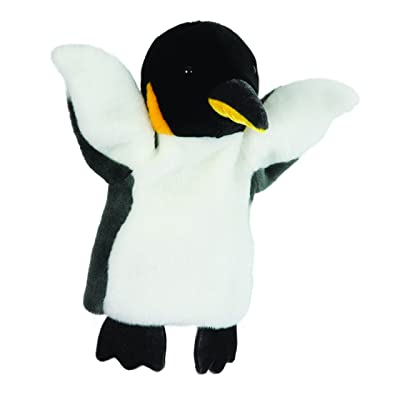 The Puppet Company CarPets Emperor Penguin Hand Puppet: Toys & Games