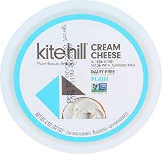 product image for Kite Hill Dairy Free Cream Cheese Style Spread, Plain, 8 oz