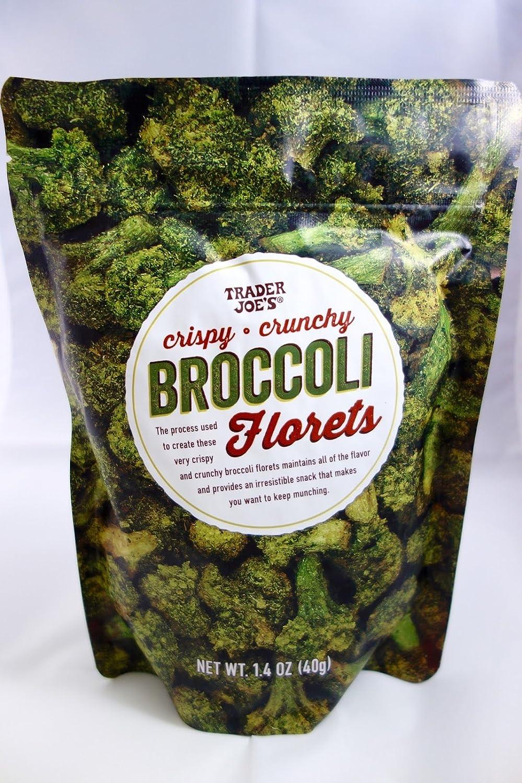Trader Joe's Broccoli Florets 1.4 oz. (Pack of 2)
