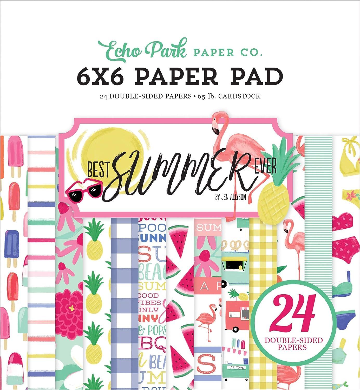 """12 Designs//2 Each Echo Park Double-Sided Paper Pad 6/""""X6/"""" 24//Pkg-Have Faith"""