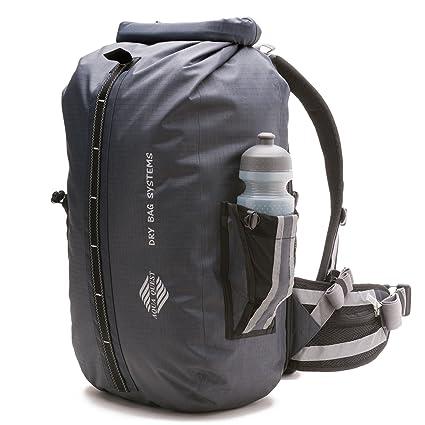 702da884b3 Aqua Quest SPORT 30 PRO Grey Backpack Waterproof with Water Bottle Pockets  for Men
