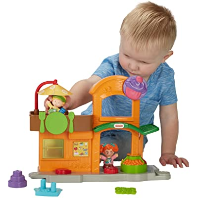 Fisher-Price Little People Manners Marketplace Playset: Toys & Games