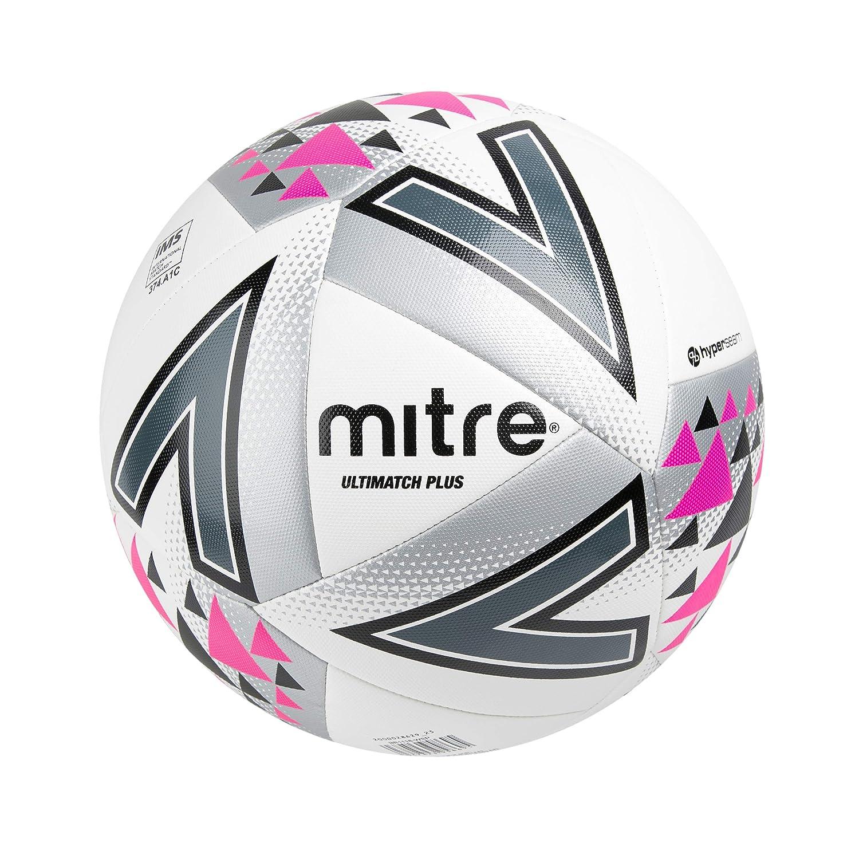 Mitre Ultimatch Plus Balón de Fútbol de Partido, Unisex Adulto ...