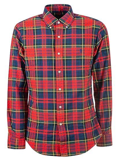 Ralph Lauren Luxury Fashion Hombre 710723608006 Multicolor Camisa ...