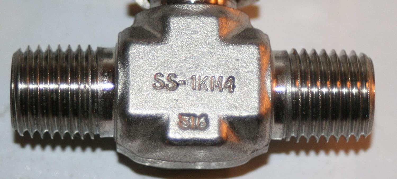 1//4 MNPT SS Needle Valve Whitey//Swagelok SS-1KM4