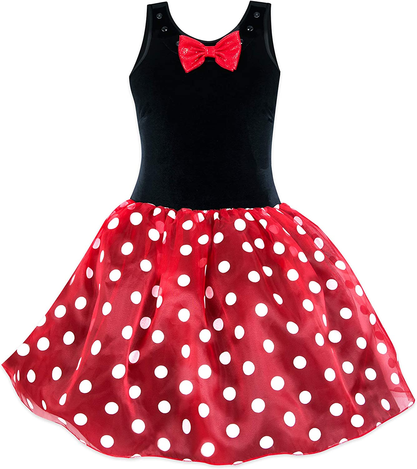 Disney - Disfraz de Minnie Mouse con tutú para Adultos, Color Rojo ...