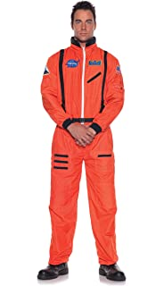 Amazon Com Underwraps Men S Astronaut Costume Standard Toys Games