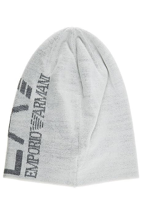Emporio Armani EA7 cuffia berretto donna originale train core lady bianco   Amazon.it  Scarpe e borse 0e1842b5668e