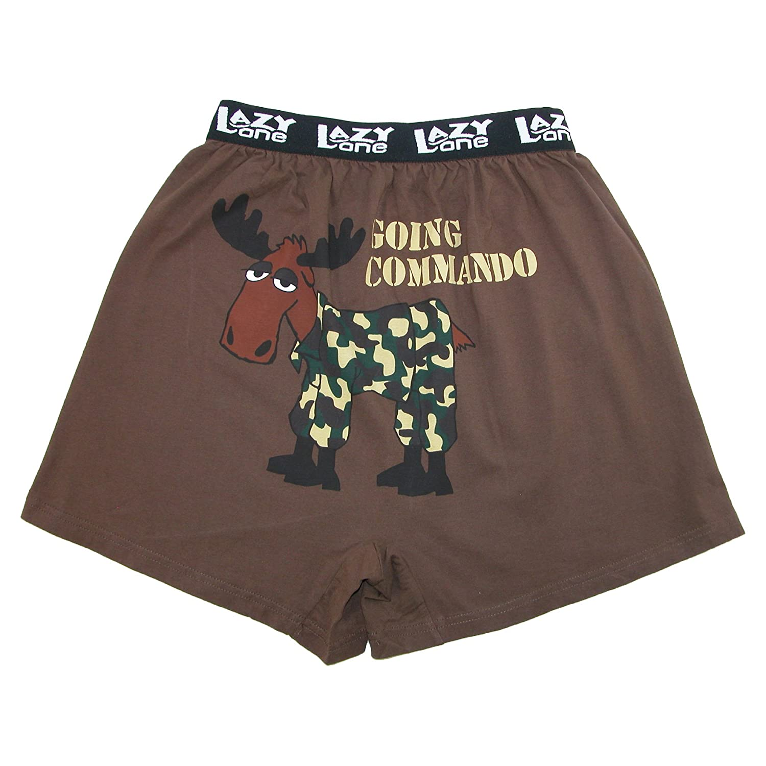 Lazy One - Going Command Moose Men's Boxer B247L