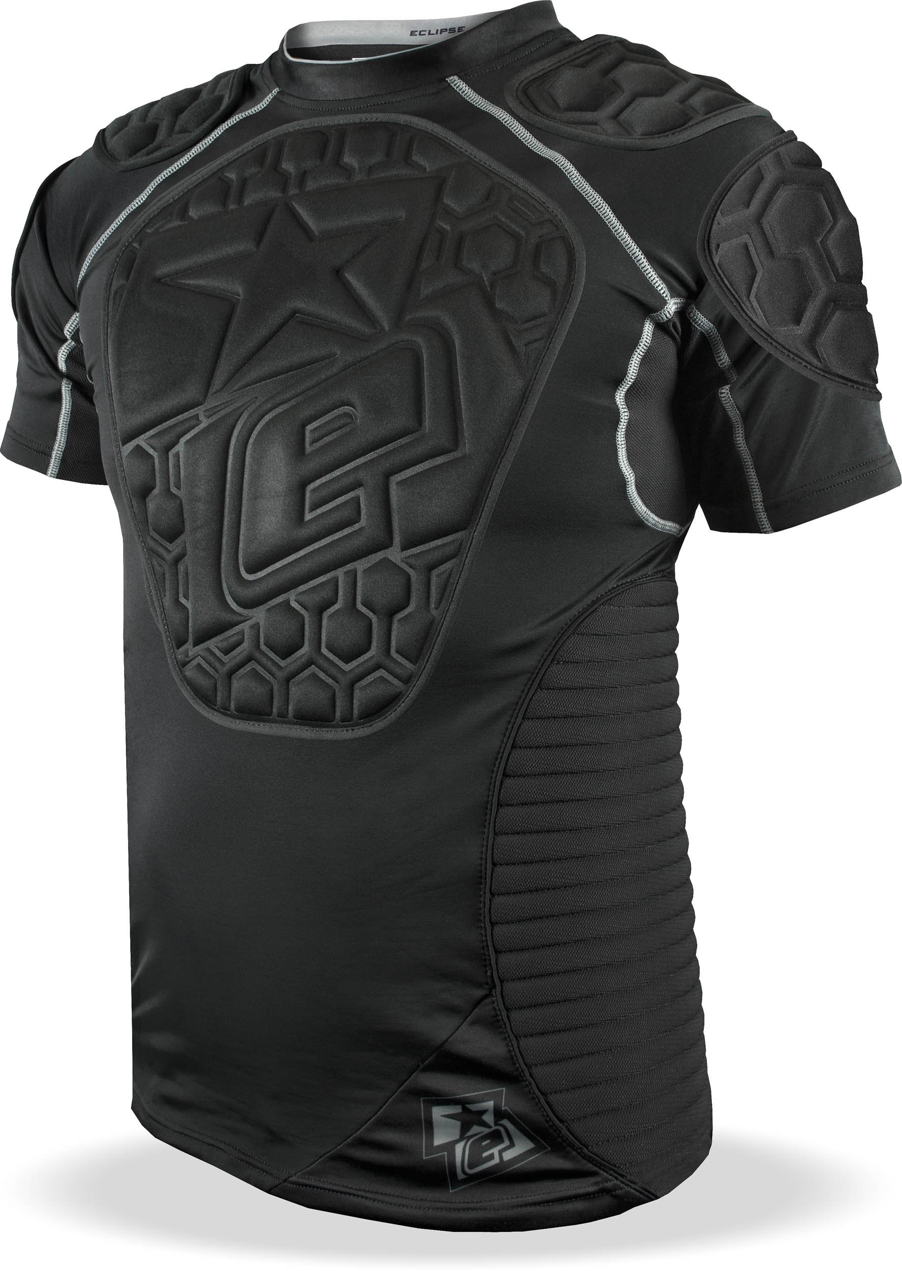 Planet Eclipse Paintball Overload Protective Jersey (Black, XX-Large) by Planet Eclipse