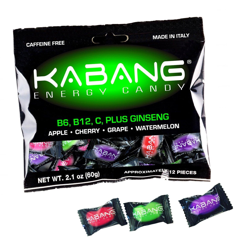 Kabang Energy Candy with Vitamin C, Vitamin B12, B6 and Ginseng (12)