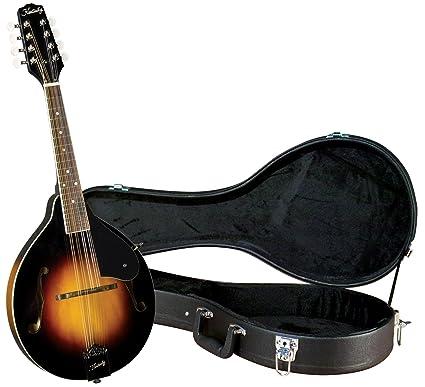 Kentucky KM-150 Standard A-model Mandolin with Deluxe Case - Sunburst