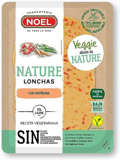 Noel Nature Lonchas con Verduras, 90g (Refrigerado): Amazon ...