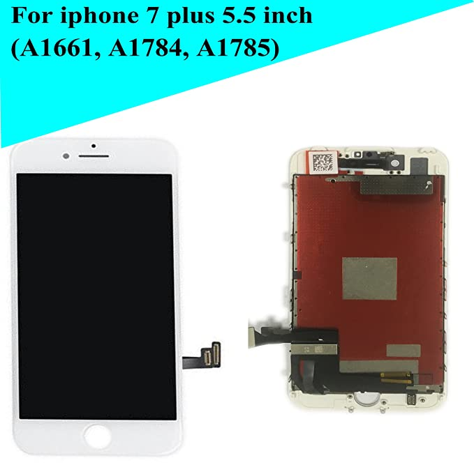 amazon com white lcd screeen replacement iphone 7 plus 5 5 tool