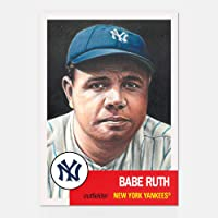 76d4180489c BABE RUTH TOPPS LIVING SET 2018 CARD  100 NEW YORK YANKEES w FACSIMILE  SIGNATURE