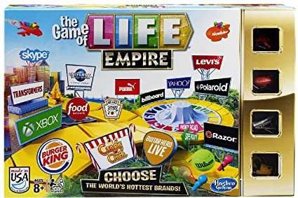 Buy Hasbro The Game of Life Game Empire Edition Online at