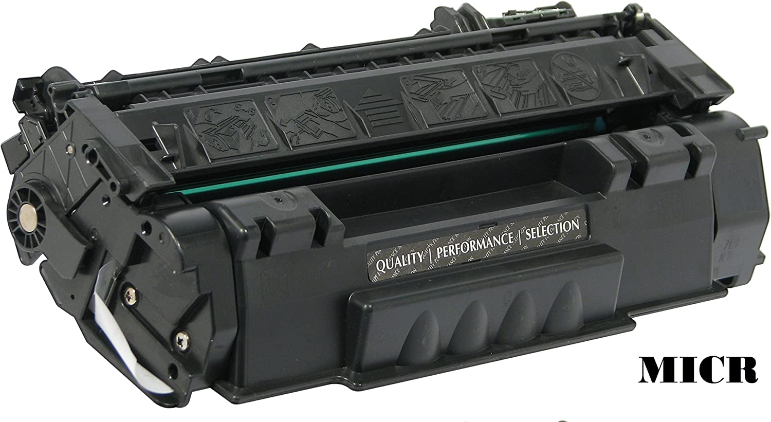 Glb Premium Quality Compatible Replacement für Hp 49ein / Hp Q5949ein Black Laser Toner Cartridge für Hp Laserjet 1160, 1320, 1320N, 1320Nw, 1320Tn, 3390, 3392 Printers(Micr)