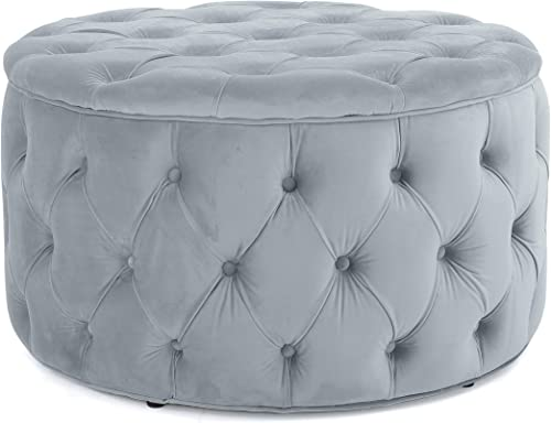 Christopher Knight Home Zelfa Velvet Ottoman