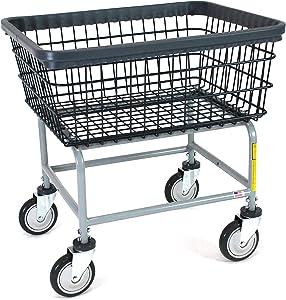 R&B Wire 100E/D7 Wire Laundry Cart, 2.5 Bushel, Dura-Seven, Seven Year No Rust Guarantee